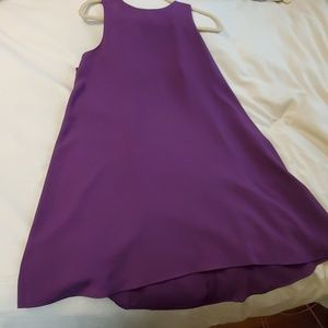 LOFT purple flowy dress. NEW